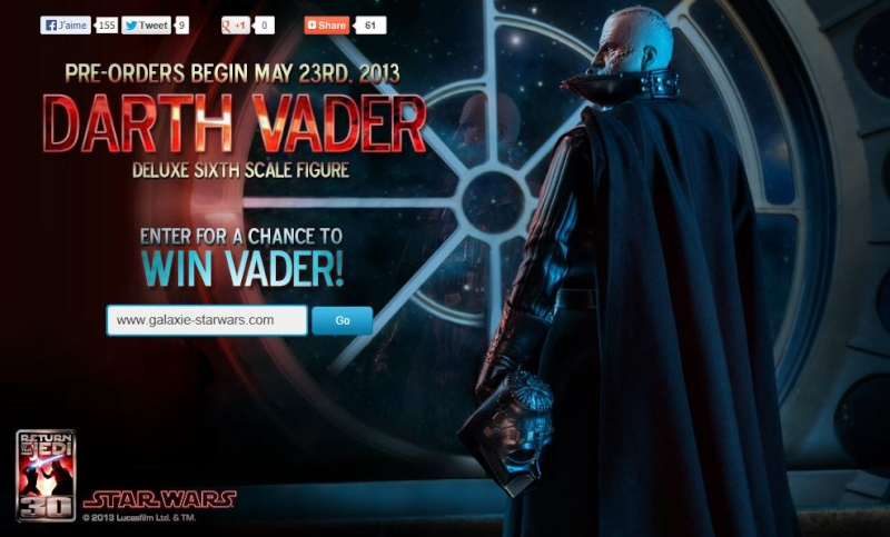 Sideshow - Darth Vader Deluxe Sixth Scale Figure  - Page 2 Vader_10