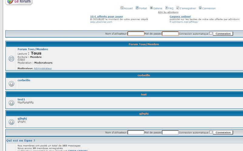 Forumactif: nouvelle mise à jour, nouvelles fonctionnalités, nouvelle version... 2010