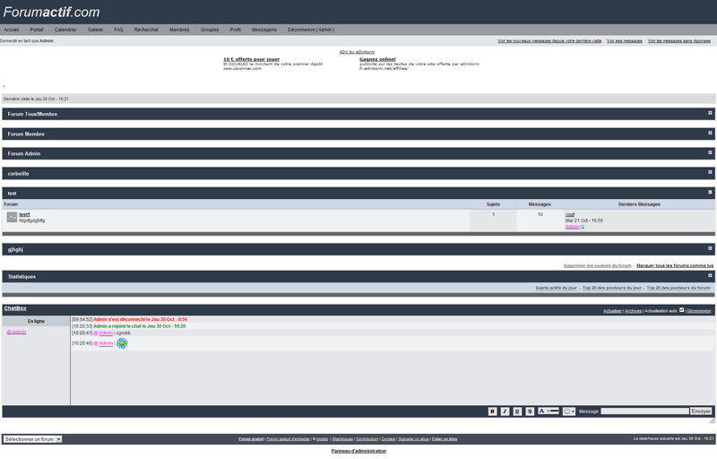 Forumotion: new update, new functionalities, new forum version 611