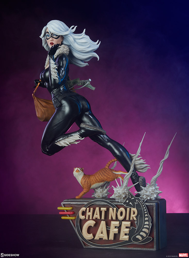 BLACK CAT - Mark Brooks Artist Series Statue 30070411