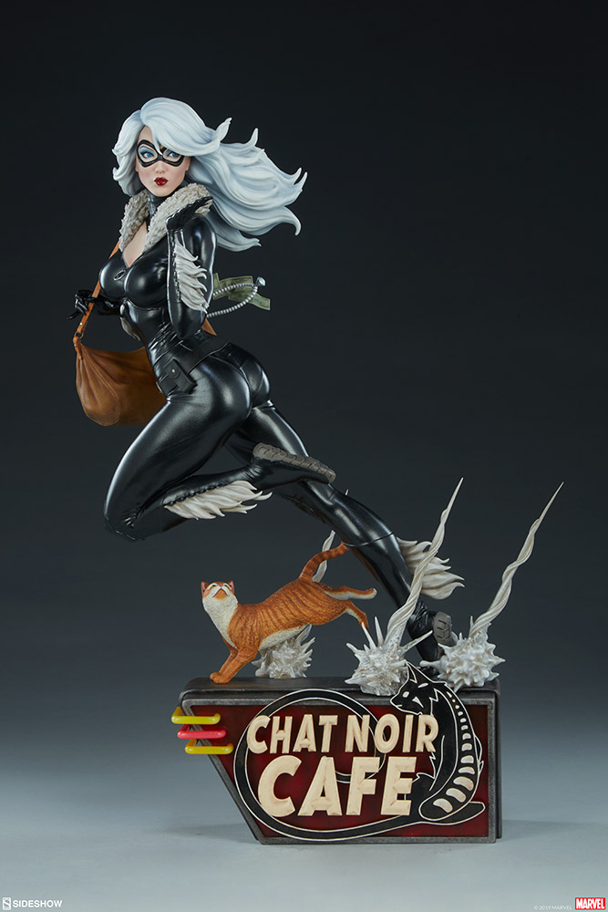 BLACK CAT - Mark Brooks Artist Series Statue 30070414