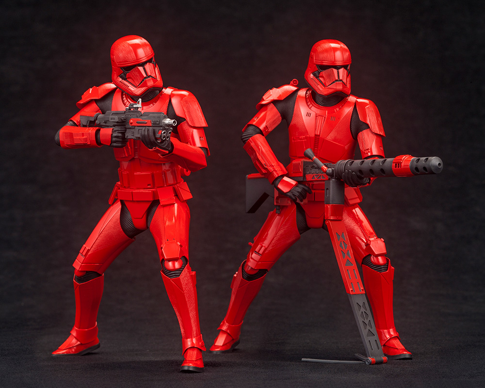 Star Wars: The Rise of Skywalker – Sith Trooper ARTFX+ Statue 2-Pack Artfx-21