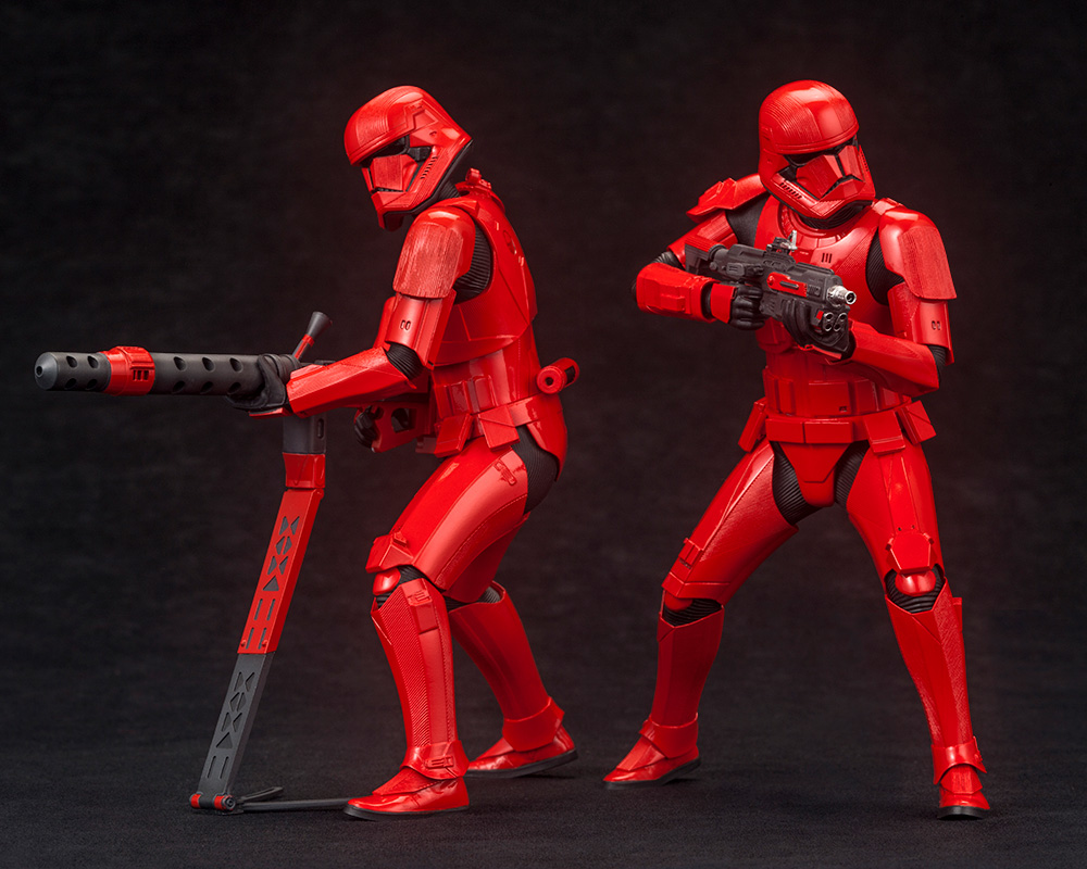 Star Wars: The Rise of Skywalker – Sith Trooper ARTFX+ Statue 2-Pack Artfx-22