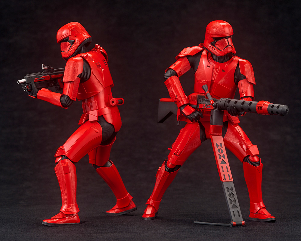 Star Wars: The Rise of Skywalker – Sith Trooper ARTFX+ Statue 2-Pack Artfx-23