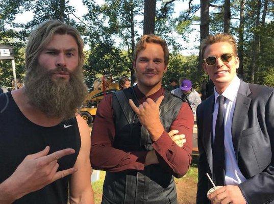Dans les coulisses d'Avengers : Endgame Avenge26
