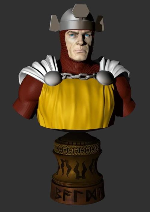 Balder the Brave - buste - Jim Maddox Balder10