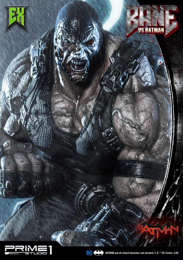 Bane VS Batman 1/3 scale statue Bane_v10