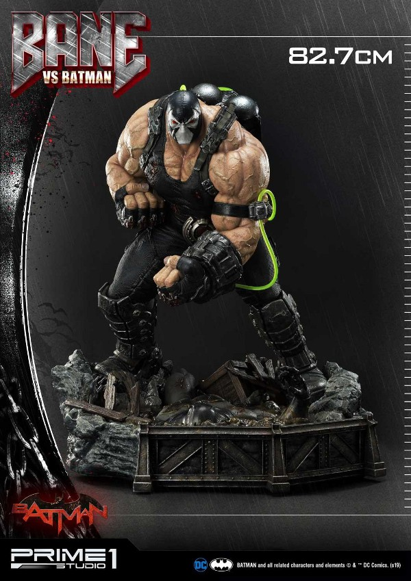 Bane VS Batman 1/3 scale statue Bane_v13