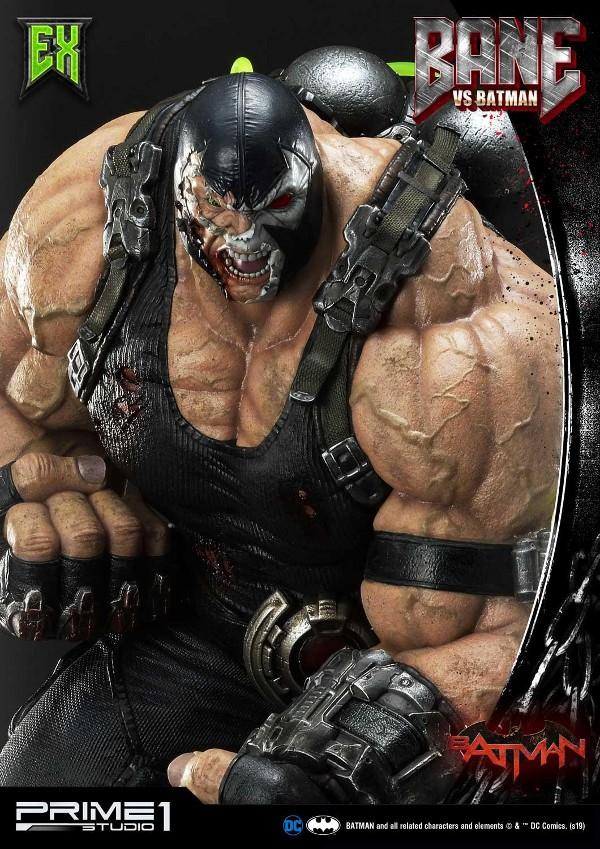Bane VS Batman 1/3 scale statue Bane_v14