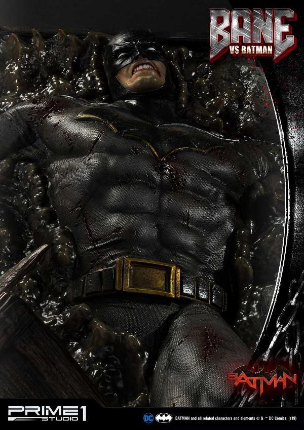 Bane VS Batman 1/3 scale statue Bane_v22