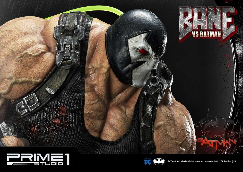 Bane VS Batman 1/3 scale statue Bane_v26