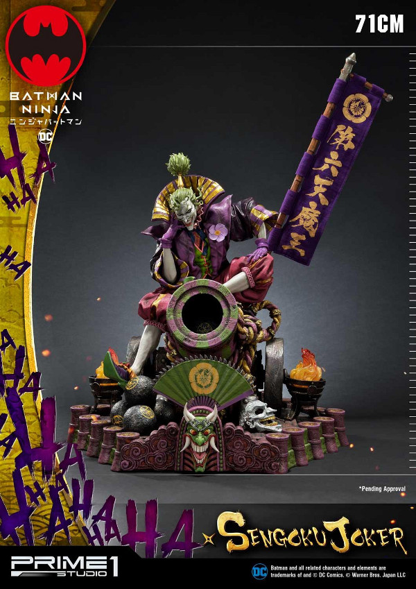 Batman Ninja : Sengoku Joker 1/4 scale Premium Masterline Batma130