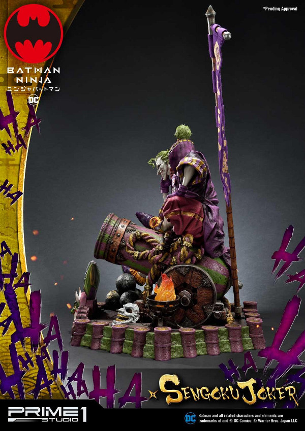 Batman Ninja : Sengoku Joker 1/4 scale Premium Masterline Batma132