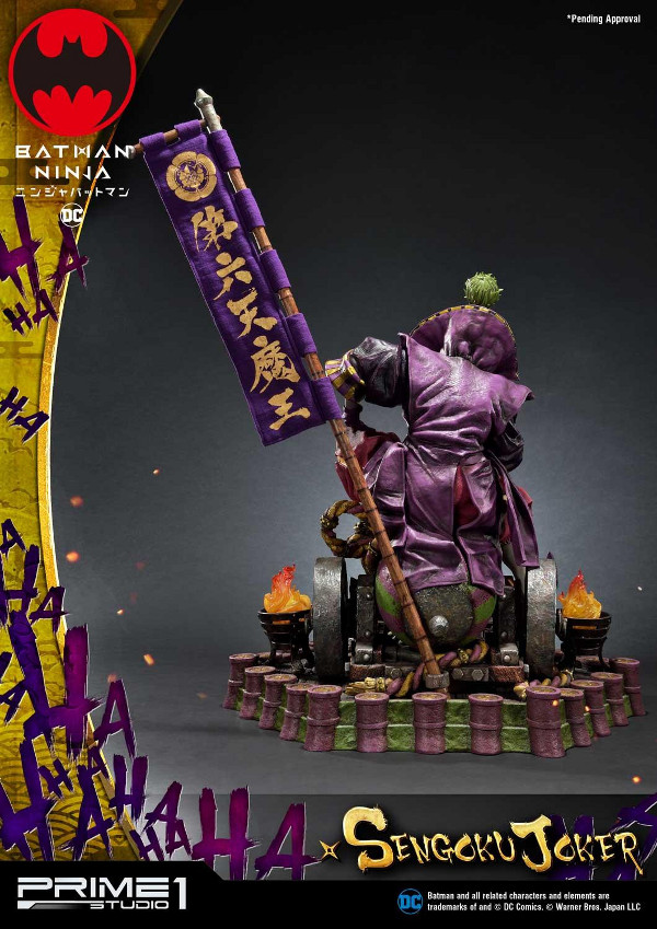 Batman Ninja : Sengoku Joker 1/4 scale Premium Masterline Batma133