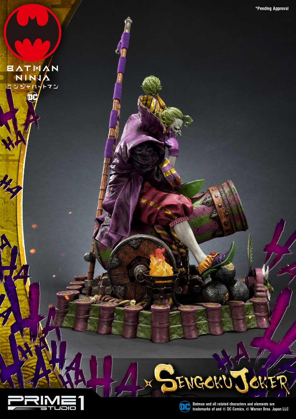 Batman Ninja : Sengoku Joker 1/4 scale Premium Masterline Batma134