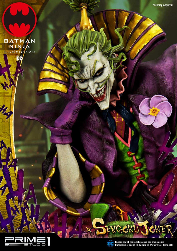 Batman Ninja : Sengoku Joker 1/4 scale Premium Masterline Batma135