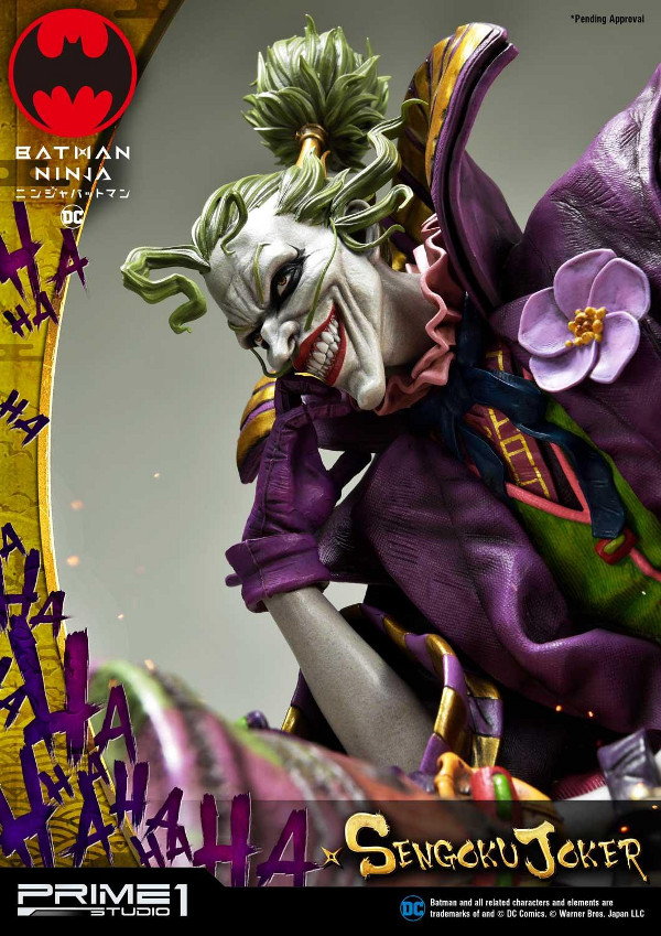 Batman Ninja : Sengoku Joker 1/4 scale Premium Masterline Batma136