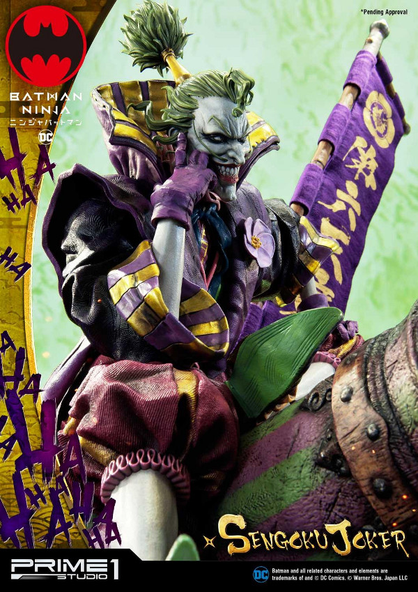 Batman Ninja : Sengoku Joker 1/4 scale Premium Masterline Batma141