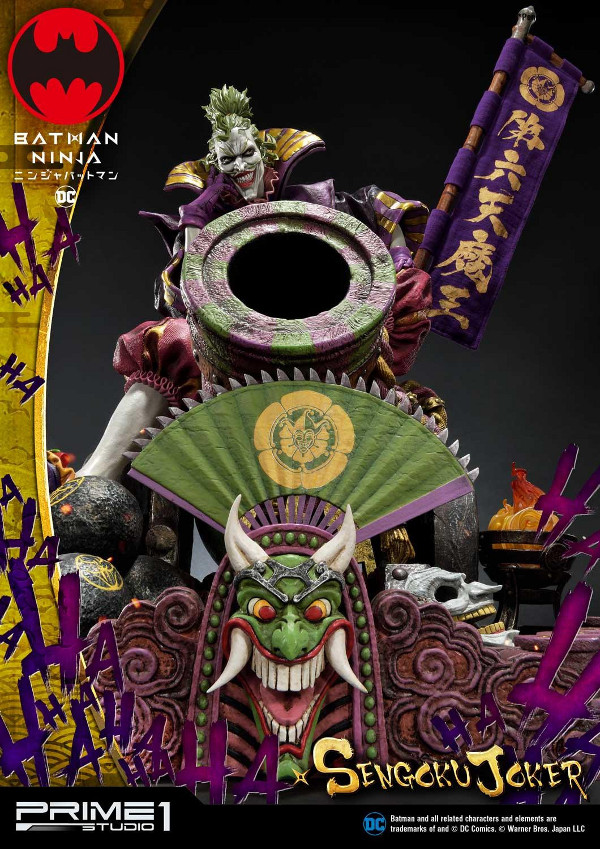 Batman Ninja : Sengoku Joker 1/4 scale Premium Masterline Batma142
