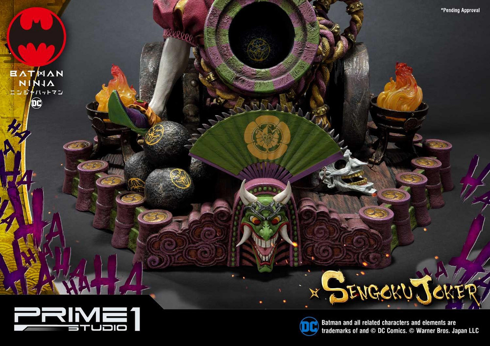 Batman Ninja : Sengoku Joker 1/4 scale Premium Masterline Batma143