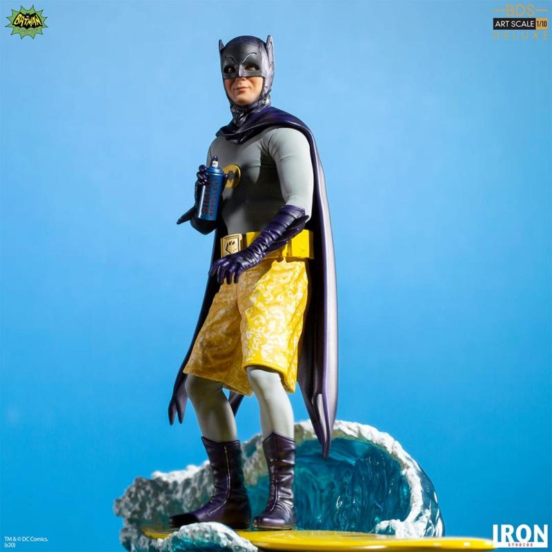 IRON STUDIOS : Batman 1966 TV Series - Batman 1/10 Scale Statue  Batma177