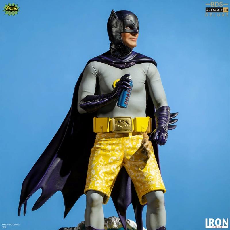 IRON STUDIOS : Batman 1966 TV Series - Batman 1/10 Scale Statue  Batma178