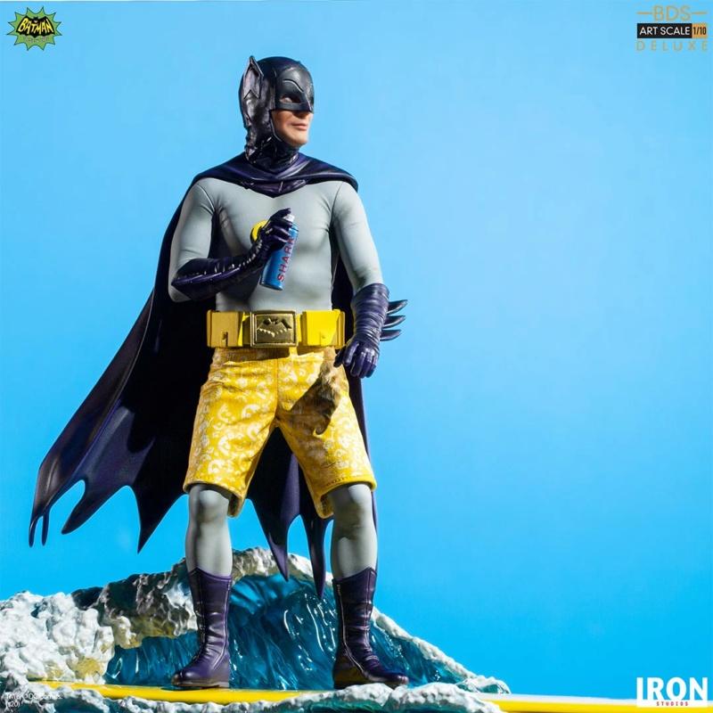 IRON STUDIOS : Batman 1966 TV Series - Batman 1/10 Scale Statue  Batma179