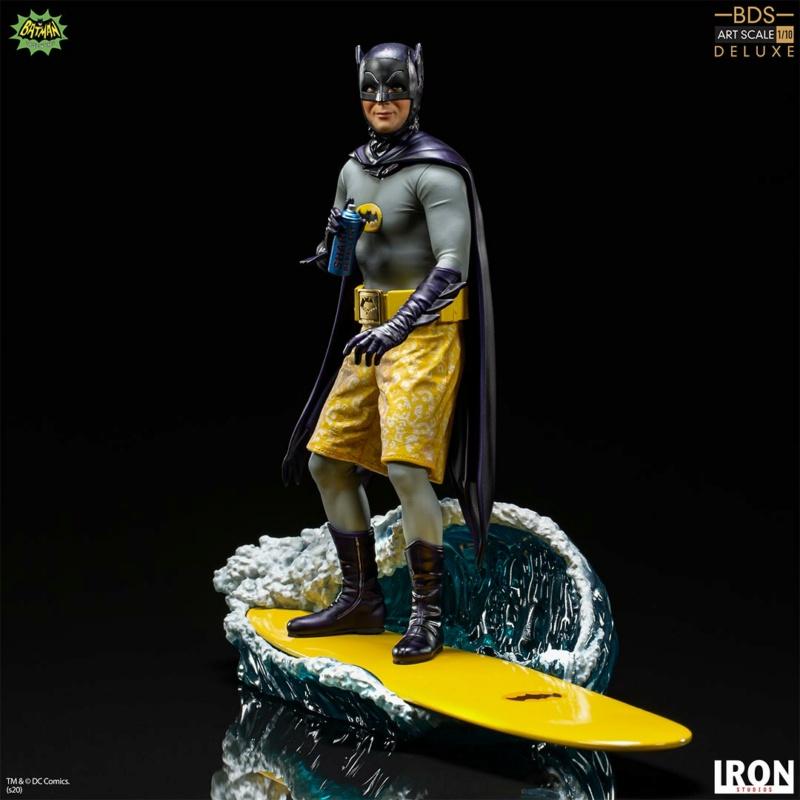 IRON STUDIOS : Batman 1966 TV Series - Batman 1/10 Scale Statue  Batma180