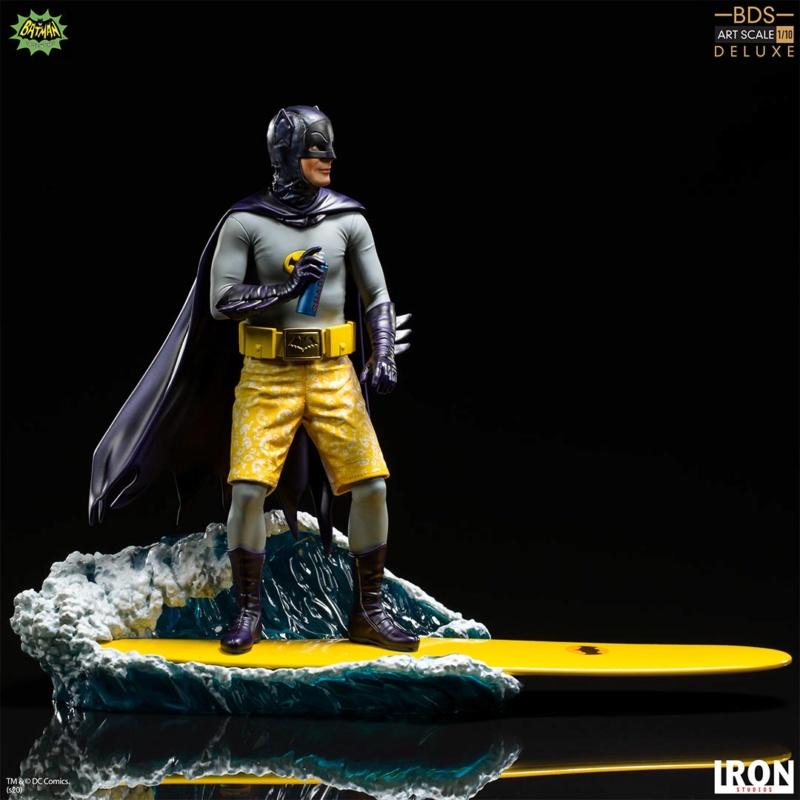 IRON STUDIOS : Batman 1966 TV Series - Batman 1/10 Scale Statue  Batma181