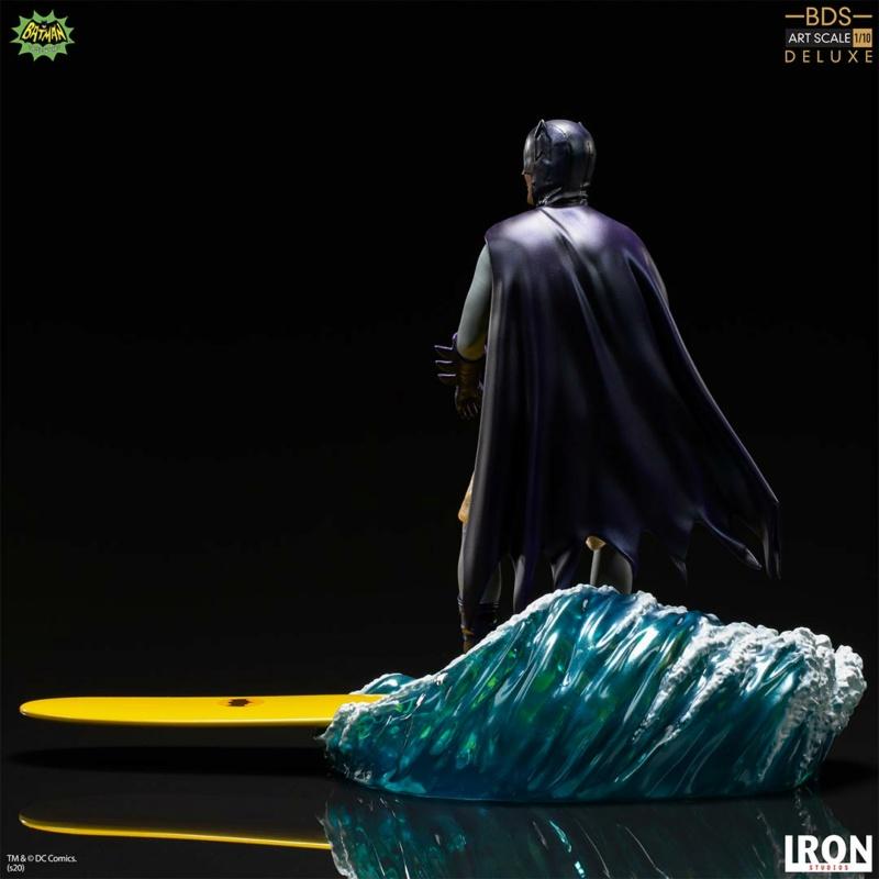 IRON STUDIOS : Batman 1966 TV Series - Batman 1/10 Scale Statue  Batma183