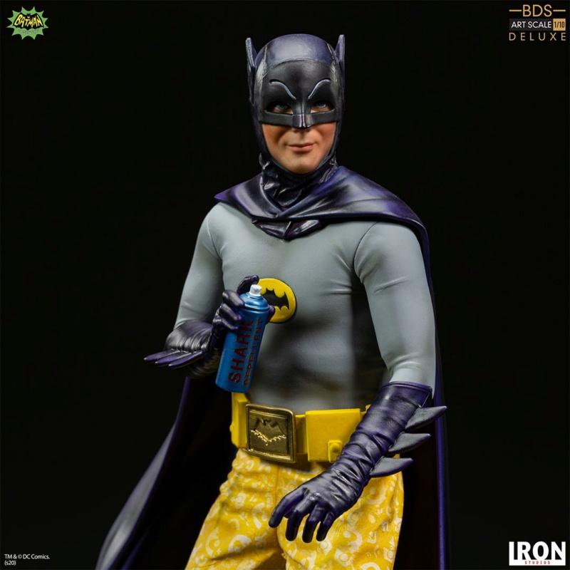 IRON STUDIOS : Batman 1966 TV Series - Batman 1/10 Scale Statue  Batma184