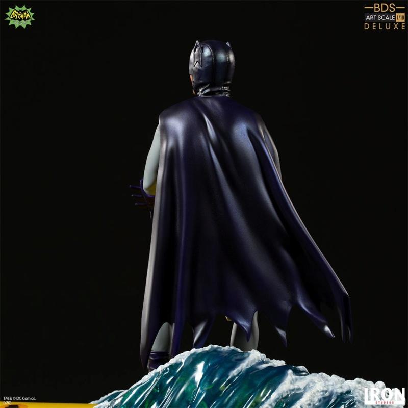 IRON STUDIOS : Batman 1966 TV Series - Batman 1/10 Scale Statue  Batma188