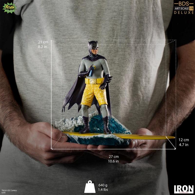 IRON STUDIOS : Batman 1966 TV Series - Batman 1/10 Scale Statue  Batma190