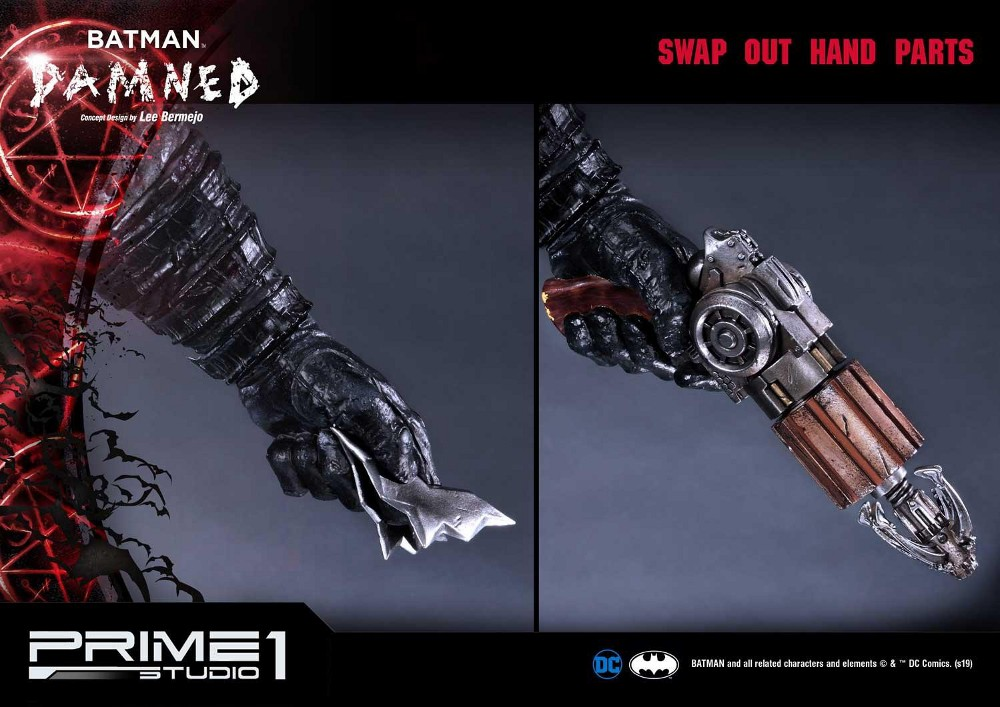 DC Comics – Batman Damned 1/3 scale Statue (Concept Design by Lee Bermejo) Batman48