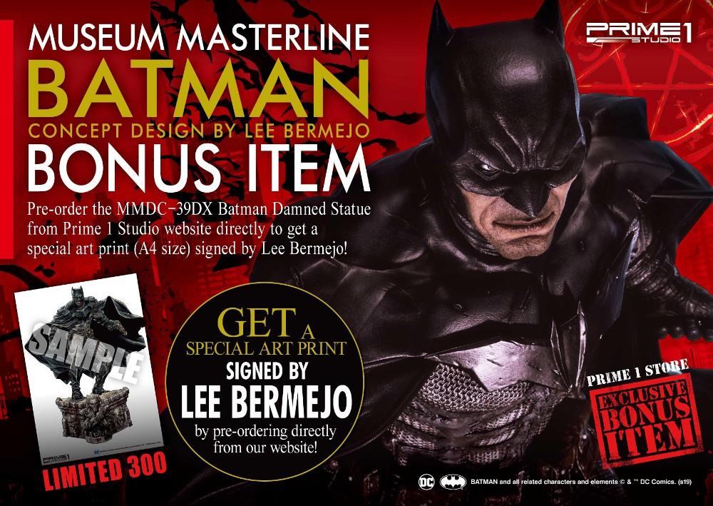 DC Comics – Batman Damned 1/3 scale Statue (Concept Design by Lee Bermejo) Batman60