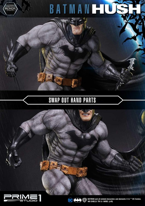 BATMAN:HUSH - Batman - 1/3 Black Version Batman84