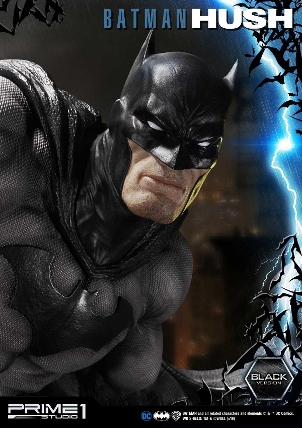 BATMAN:HUSH - Batman - 1/3 Black Version Batman88