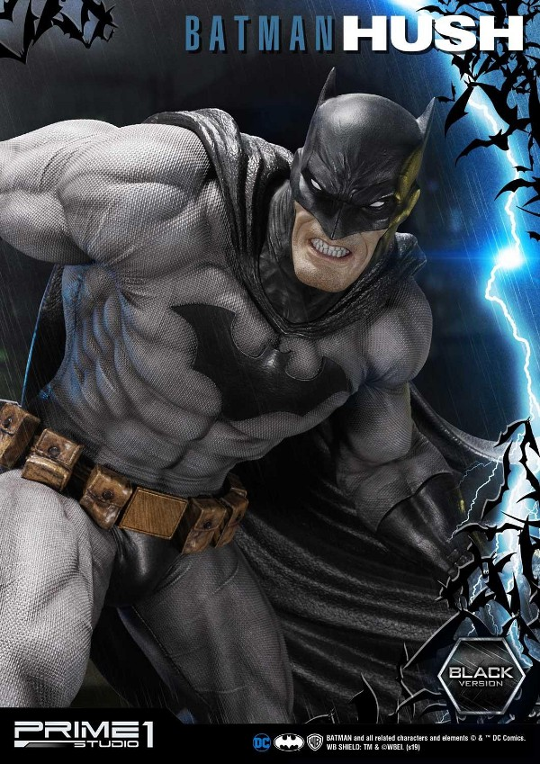 BATMAN:HUSH - Batman - 1/3 Black Version Batman89