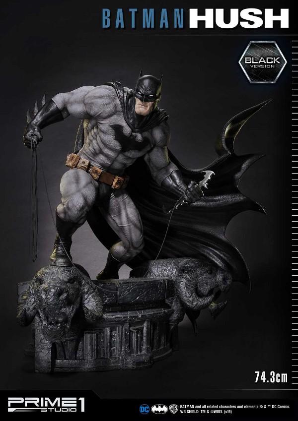BATMAN:HUSH - Batman - 1/3 Black Version Batman92