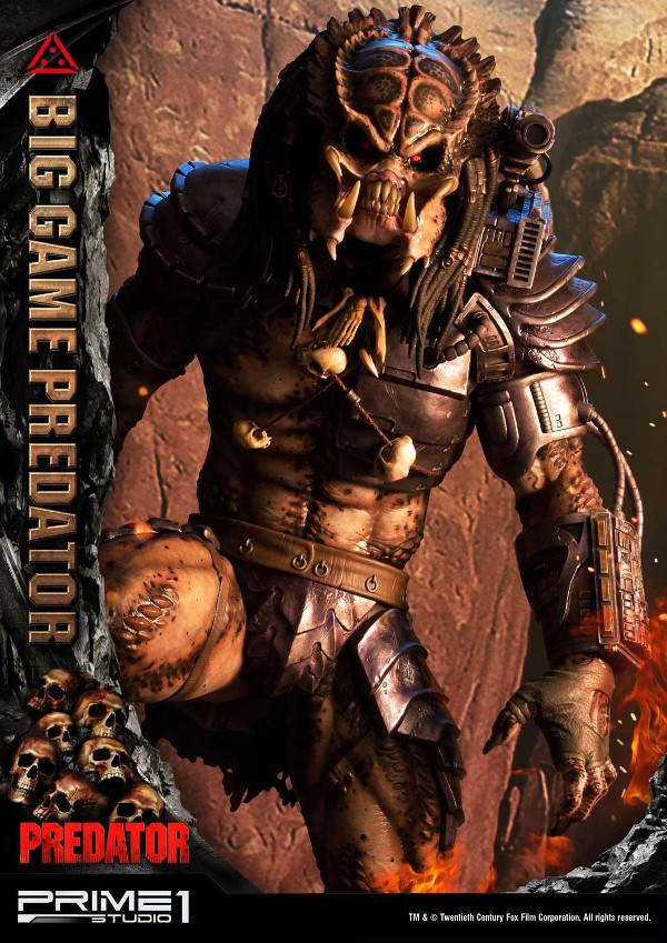 Big Game Predator 1/4 Statue Big_ga10