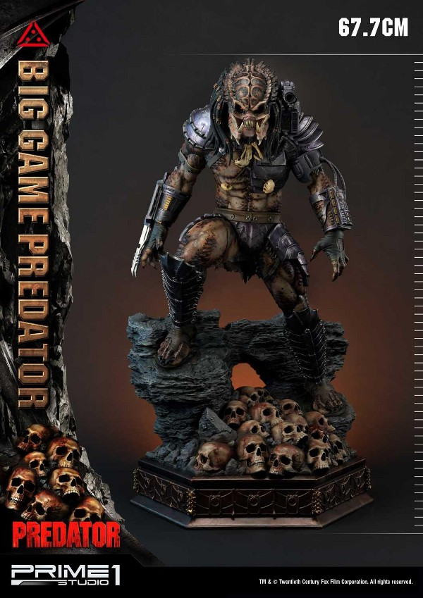 Big Game Predator 1/4 Statue Big_ga12