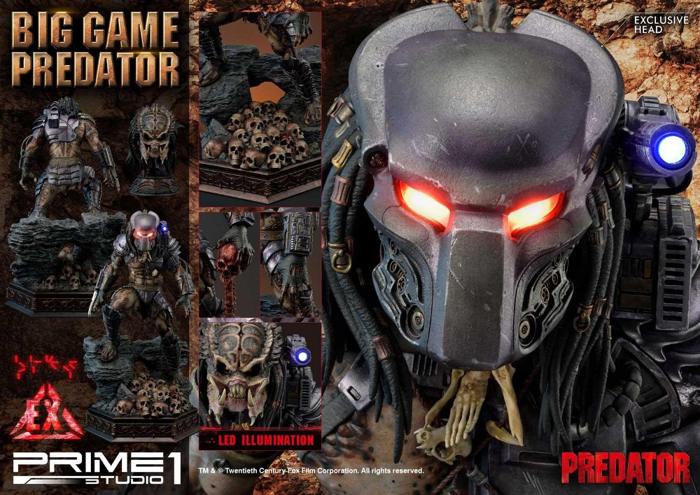 Big Game Predator 1/4 Statue Big_ga13