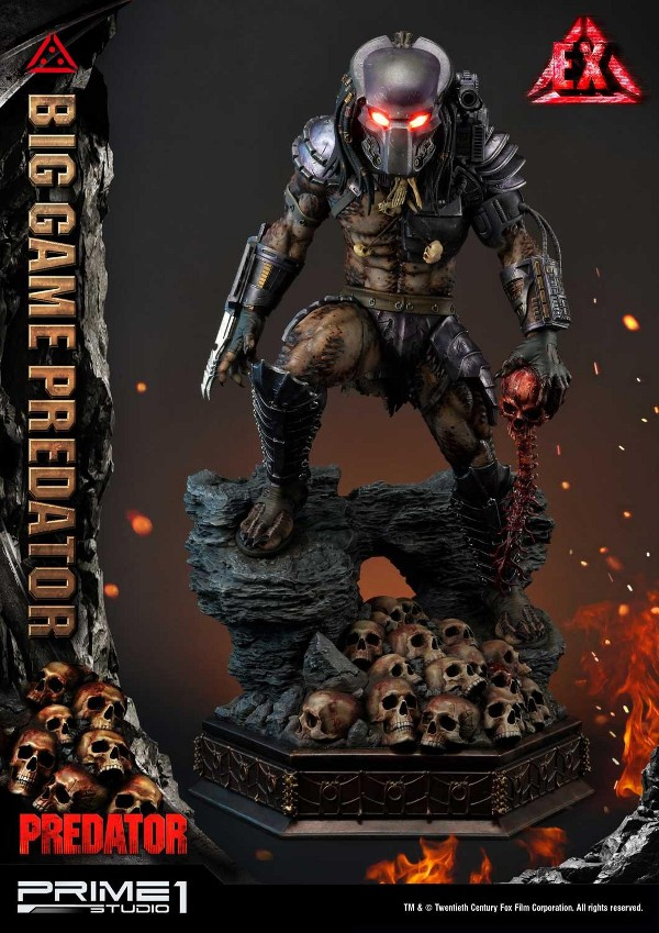 Big Game Predator 1/4 Statue Big_ga15