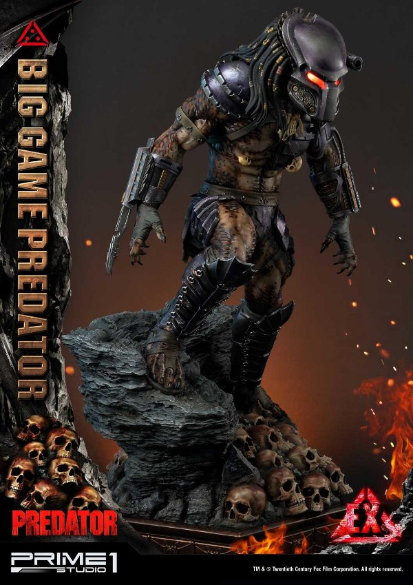 Big Game Predator 1/4 Statue Big_ga16