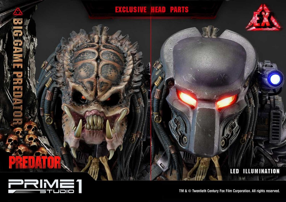 Big Game Predator 1/4 Statue Big_ga21