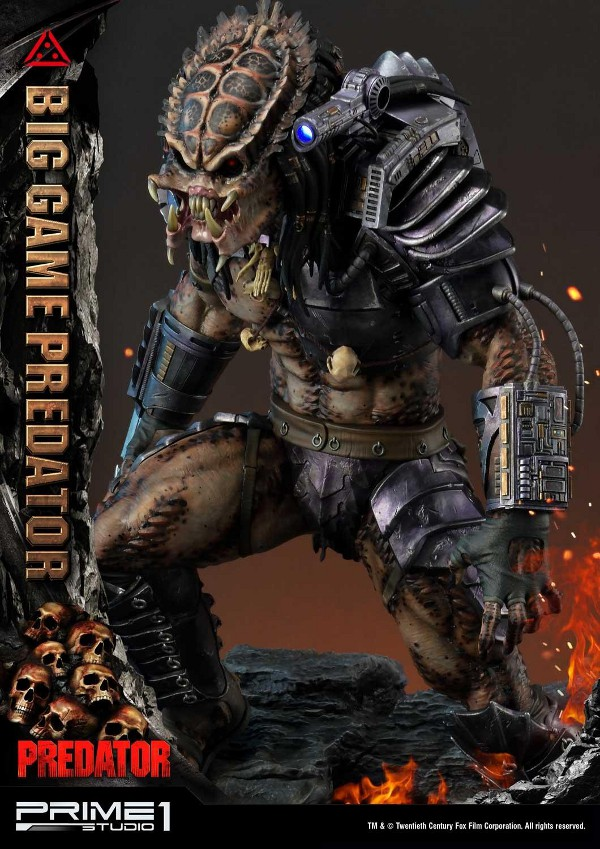 Big Game Predator 1/4 Statue Big_ga22