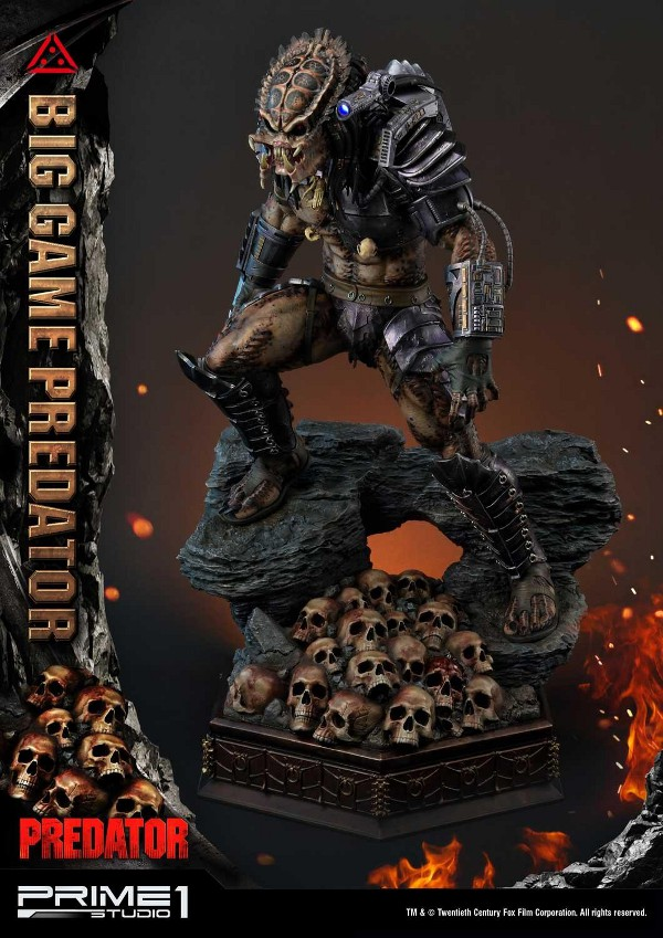 Big Game Predator 1/4 Statue Big_ga23