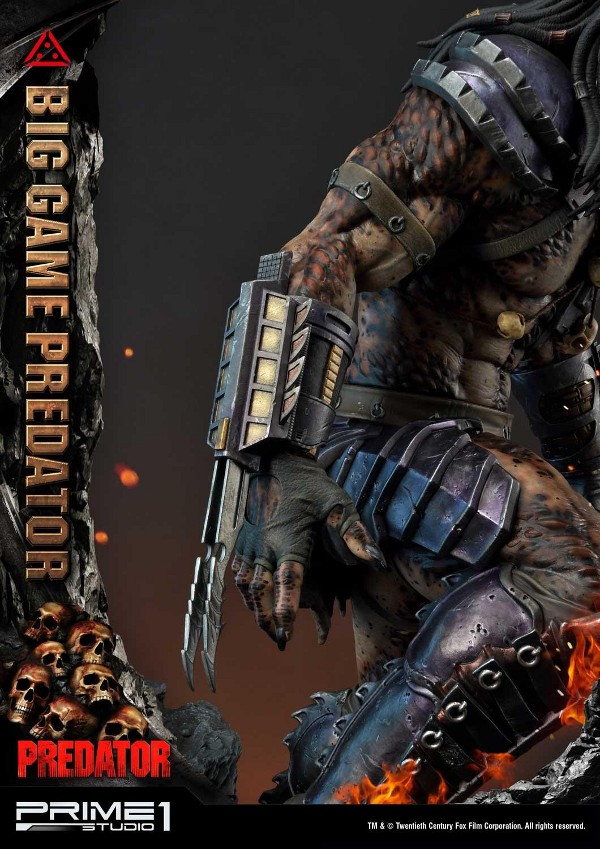 Big Game Predator 1/4 Statue Big_ga25