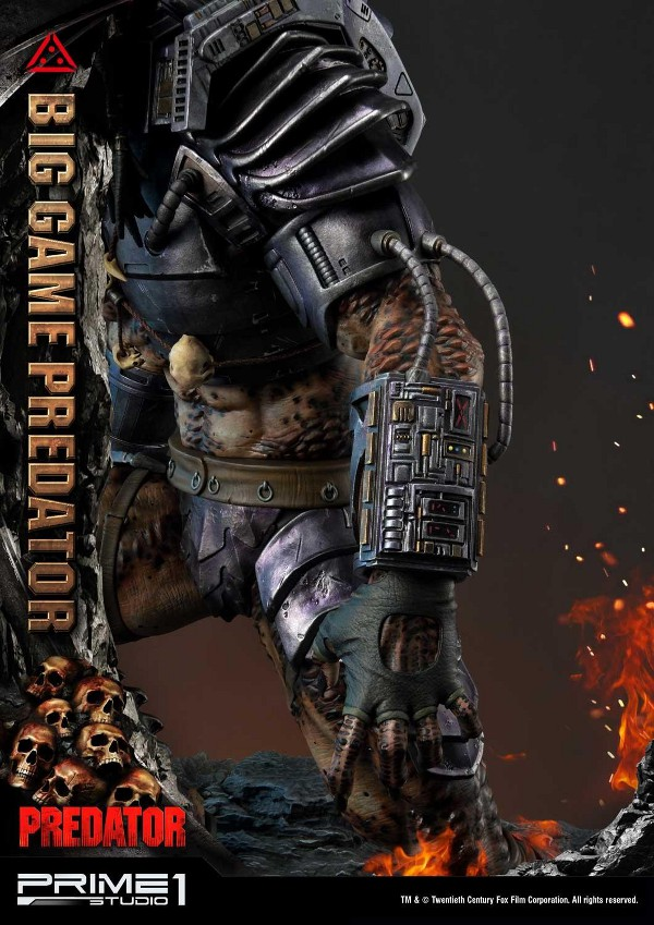 Big Game Predator 1/4 Statue Big_ga26