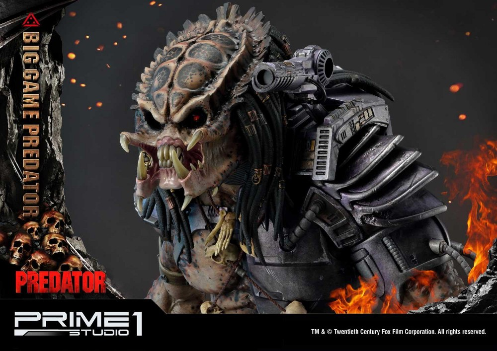 Big Game Predator 1/4 Statue Big_ga27